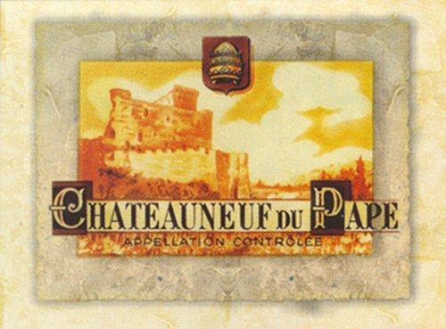 Buyartforless Chateauneuf du Pape 4 X 5 Art Print Poster