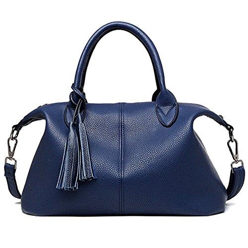 Metallic Gold Woven Top Handle Bag (FCZERO HB10062 Genuine Leather Handbag for Women,Fashion & Elegant Gift Shoulder)