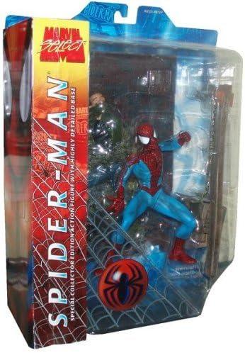 B000P4YLRO Best of Marvel Select: Spider-Man Action Figure 51VGKmmGEuL
