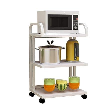 Estante De Cocina Estante Para Horno De Microondas De 3/4 Capas ...