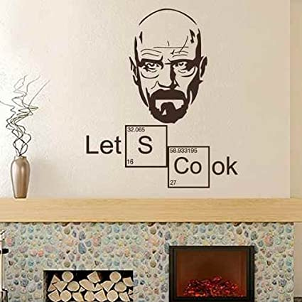 Amazon.com: Lets Cook Kitchen Wall Decal Periodic Table ...