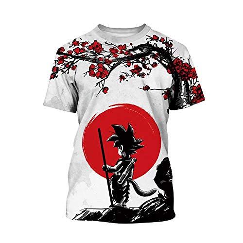 Dragon Ball Z T-Shirts Boys Girls Kids 3D Print Cartoon DBZ Tops Tee ()