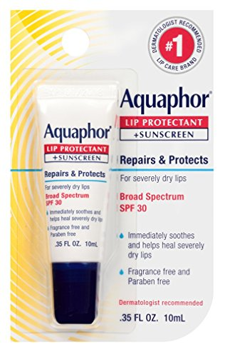 Aquaphor Lip Protectant Spf30 0.35 Ounce 6 Pieces 10ml