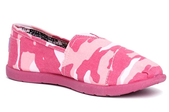 Amazon.com | Toms Kids Classics Pink Camo 012002C10-Pcamo (6 M US Big Kid, Pink Camo) | Sneakers