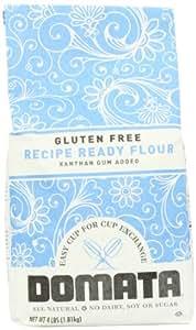 Domata Recipe Ready Flour, Gluten Free, 4 Pound