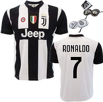 Juventus Replic Jersey Personalizado Ronaldo 7 PS 27365 + CD Titular (2 Edad): Amazon.es: Deportes y aire libre