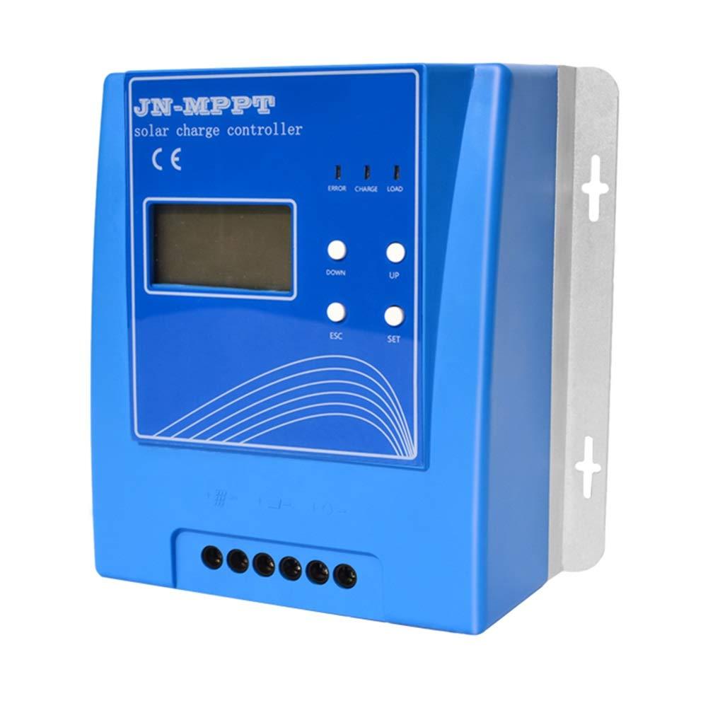 チャージコントローラー ソーラーパネル用 MPPTソーラー充電コントローラー 12V/24V/48V自動 10A-40A ソーラーパネル バッテリレギュレータ Max150V PV入力 LCDディスプレイ付 充放電コントローラー (Color : 20A) B07R483QDY 20A