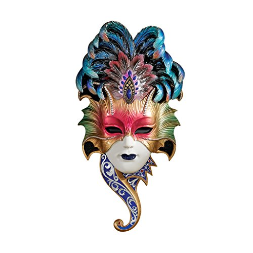 Mask Toscano (Design Toscano The Venetian Masquerades Sculptural Wall Masks: Maiden del Belluno)