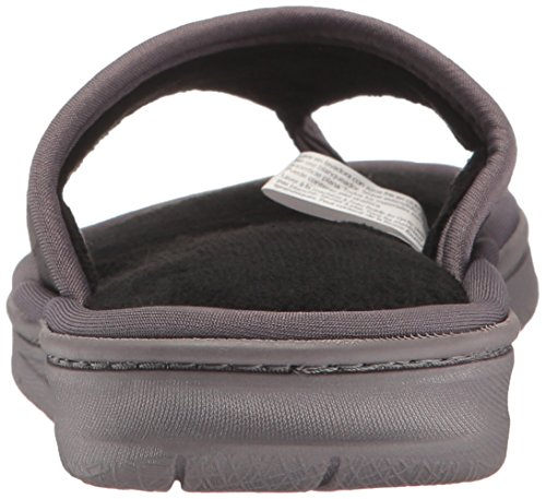 Amazon.com | Dearfoams Women's Perfed Nylon Thong Slip on Slipper | Slippers