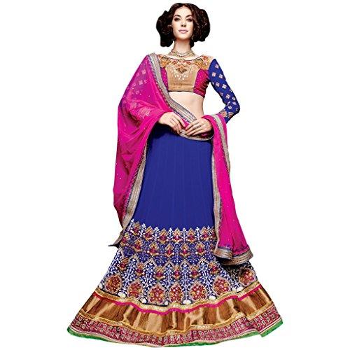 Jay Sarees Designer Bollywood style 3 pcs lehenga choli unstitched
