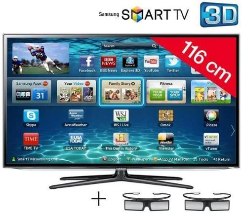 Televisor LED Smart TV 3d UE46ES6100 + Cable HDMI – 24 de karätig Dorado, 1,5 m – – swv3 432ws/10: Amazon.es: Electrónica