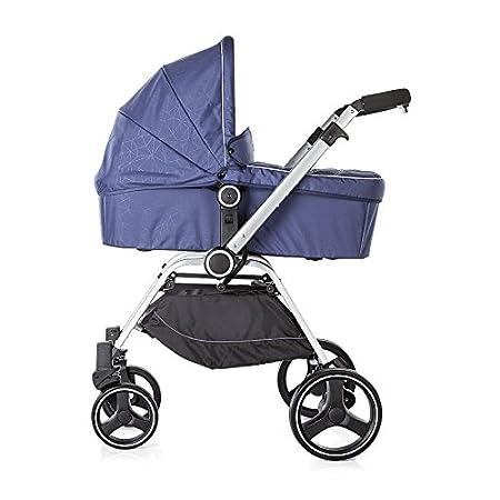 Beige Chipolino Baby Kinderwagen und Babyschale Mika