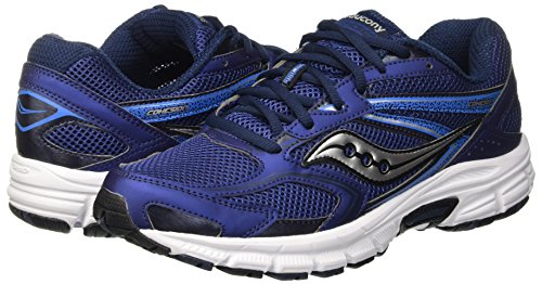 Pictures of Saucony Men's Grid Cohesion 9-M Navy/Grey 14 M US 4