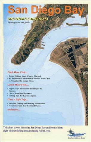 San Diego Bay Fishing Chart & Guide