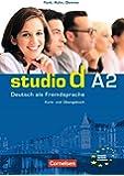 Studio d: Kurs- und Arbeitsbuch A2 mit CD: Deutsch Als Fremdsprache: Kurs- Und Ubungsbuch Teilband 1