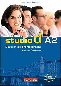 Book Studio D A2: Deutsch als Fremdsprache: Kurs- und Übungsbuch (Book & CD)