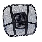 Buy Car Office Seat Chair Massage Back Lumbar Support Mesh Ventilate Cushion Pad , Black