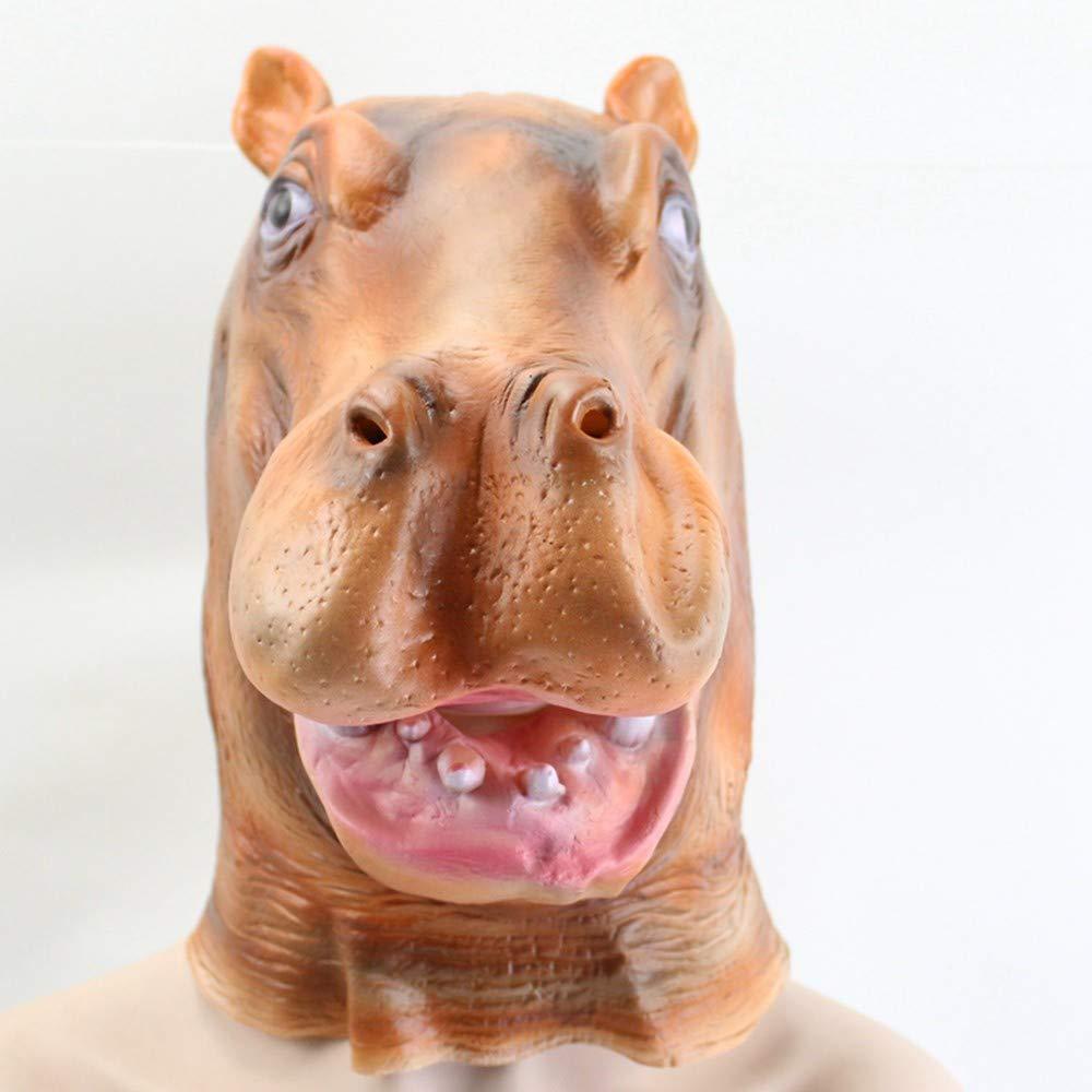 Lianaic Máscara Máscara Facial De Látex para Animales Máscara De Fiesta De Látex Fiesta para Niños Máscara De Halloween Parodia