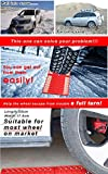Zwang All-Weather Foldable Auto Traction Mat Tire