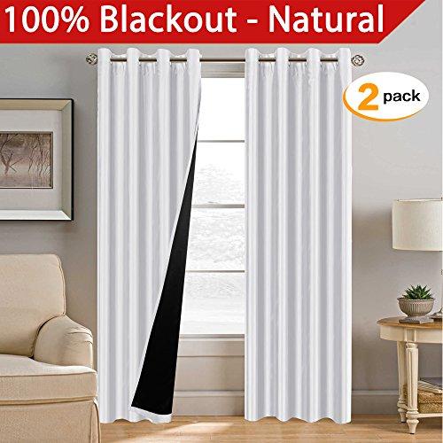 H.Versailtex 100% Blackout Curtains 96