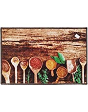 Wooden Spoons Kitchen Rug 50by75cm