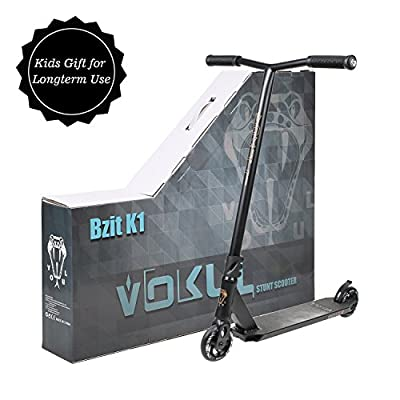VOKUL Complete Pro Scooter for Kids/Teens/Adults, 7 Years and UP - Freestyle Tricks Pro Stunt Scooter- High Performance Gift for Skate Park Street Tricks from Vokul