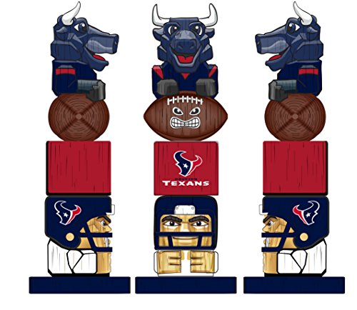 Team Sports America NFL Houston Texans Tiki Totem