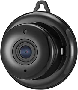 DIGOO M1Q 960P HD 2.8mm Lens Home Security Camera, Indoor Surveillance IP Camera With 115°Wide-Angle Viewing, Night Vision, Motion Detection, Baby Monitor, Two-way Audio, Black