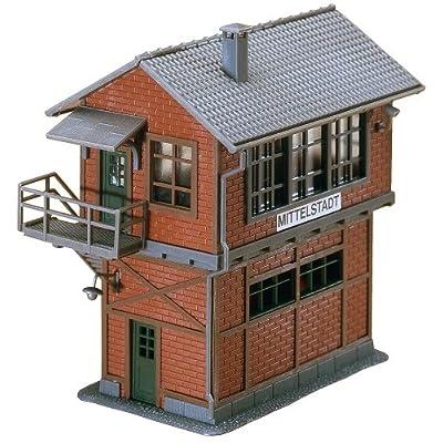 Faller 120120 Yard Tower Mittelstadt HO Scale Building Kit: Toys & Games