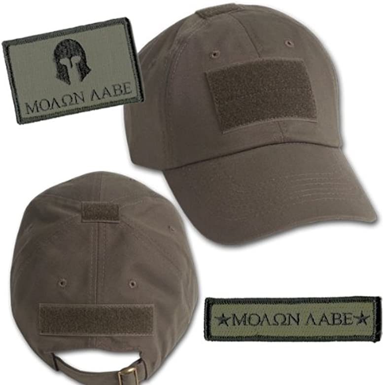 Molon Labe Tactical gorro & Parches De Patch Bundle (2 +), color ...