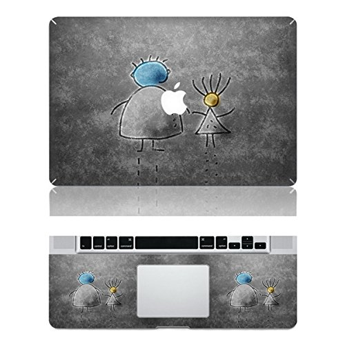 """Vati Leaves Removable Mother and Child Protective Full Cover Vinyl Art Skin Decal Sticker Cover for Apple MacBook Air 12"""" inch (A1534)"""