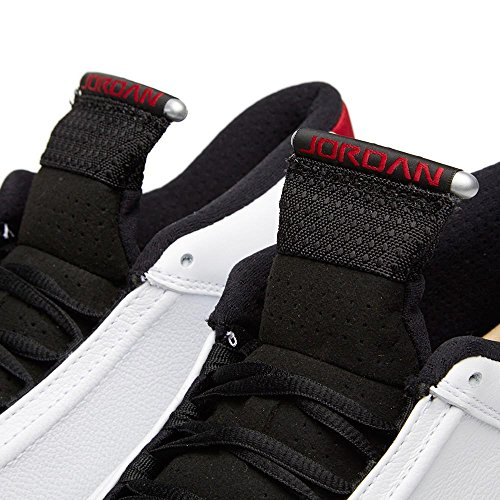 """Herren Nike Air Jordan 14 Retro """"Schwarze Zehe"""" Basketballschuhe - 487471 102"""