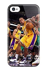 Diy Yourself case Los Angeles Lakers Nba Basketball / Fashionable case cover For Iphone GMFOknIJhpF 4/4s