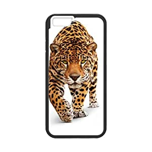 Iphone 6 The plum flower leopard Phone Back Case Customized Art Print Design Hard Shell Protection MN070876