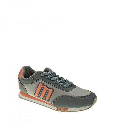 Mustang 56406 Zapatillas Mujer Color Gris Talla: 39: Amazon.es: Zapatos y complementos