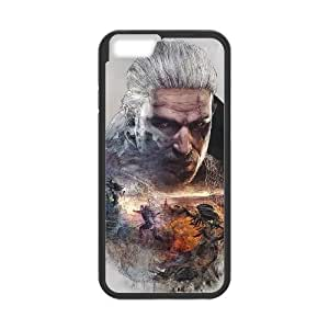 iPhone 6 4.7 Inch Cell Phone Case Black The Witcher 3 Wild Hunt review Geralt OJ586173