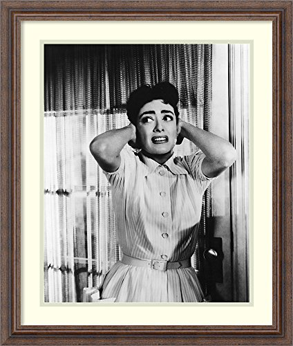 Framed Wall Art Print | Home Wall Decor Art Prints | Joan Crawford 1956 Autumn Leaves by Hollywood Historic Photos | Rustic - Joan Leaves Autumn Crawford