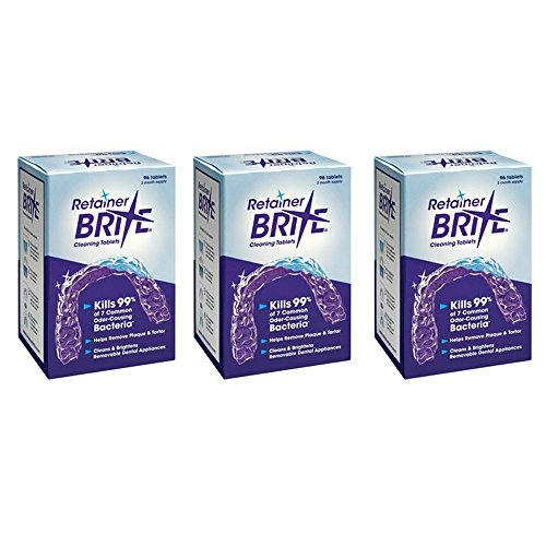 Retainer Brite 3 Pack 288 Tablets total by Retainer Brite (Image #3)'