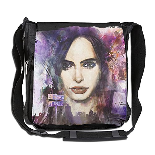 CMCGH Jessica Jones Poster Messenger Bag Traveling Briefcase Shoulder Bag For Adult Travel And Business