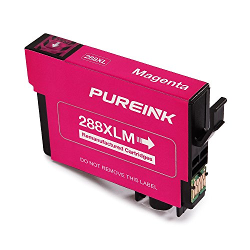 PUREINK Ink cartridges Replacement for 288 288XL, 1 Set+1 Black, High Yield, (2 Black 1 Cyan 1 Magenta 1 Yellow) Photo #8