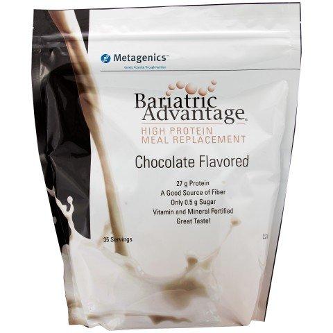 Ventaja bariátrica - alta proteína comida bolsas de recambio (35 porciones)-Chocolate