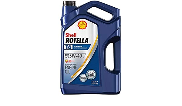 Carcasa Rotella T6 Full sintética Heavy Duty Aceite de Motor ...