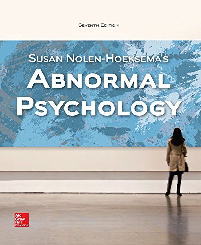 1259578135 - LooseLeaf for Abnormal Psychology