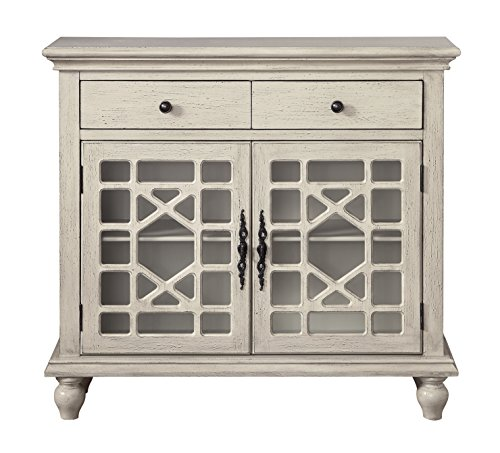 (Treasure Trove 17317 Two Drawer Two Door Cabinet,)