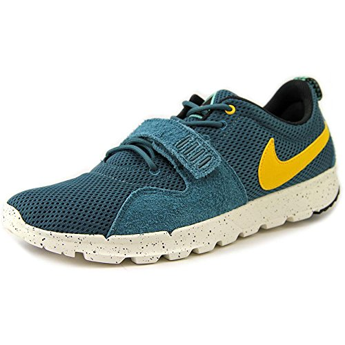 Nike Trainerendor Hombres Skateboarding-Zapatos Night Factor / Varsity Maize / Slate