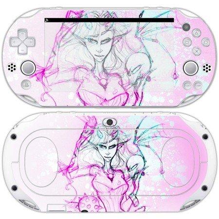 Anime Girl decal skin for psp vita 2000 console