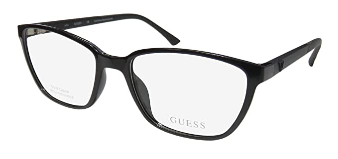 Amazon.com: Guess 2496 Womens/Ladies Cat Eye Full-Rim ...