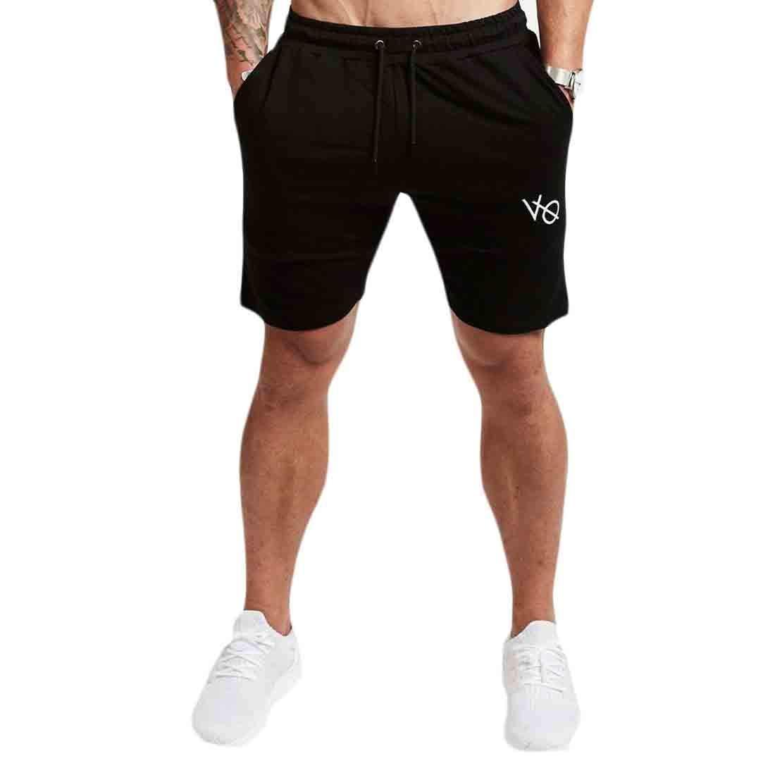 YYG Mens Running Trainning Summer Elastic Waist Active Drawstring Casual Beach Shorts Boardshort Swim Trunk