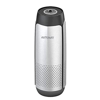 autowit Fresh 2 Car Air Humidifier Purifier with High-Efficiency Composite Filter Portable Air Freshener Purifier and Ultrasonic Humidifier: Automotive