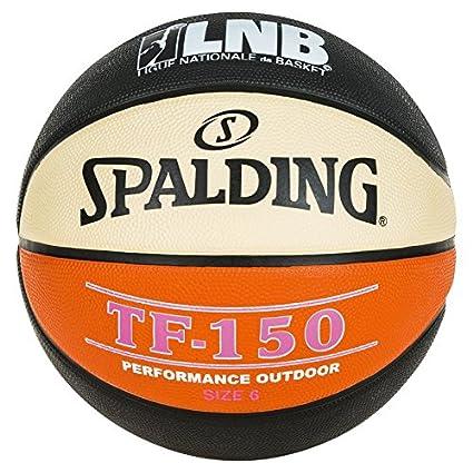 Spalding LNB TF150 balón de Baloncesto Unisex, Color Negro ...